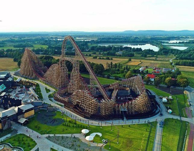 Poza 75 atrakcjami w Energylandii można także odpoczywać i bawić się w strefie wodnej Water Park.