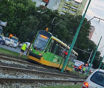 Tramwaj w Poznaniu śmiertelnie potrącił 8-latka