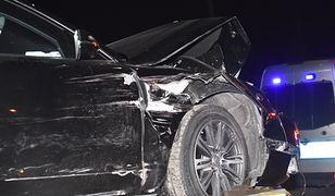 Rozbita limuzyna premier Szydło