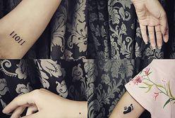 Tatuaż serce, trójkąt czy księżyc? Popularne kształty w minimalistycznych tatuażach
