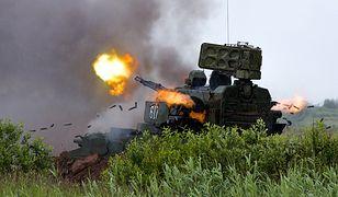 Rosyjskie samobieżne działo przeciwlotnicze 2K22M Tunguska-M