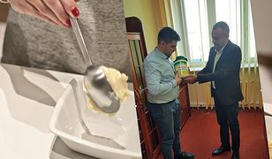 To najdroższy słoik majonezu w Polsce. Za 5 kilogramów produktu pan Łukasz zapłacił 3 tysiące złotych