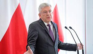 Stanisław Karczewski, marszałek Senatu, w 2015 roku wylatał najwięcej spośród senatorów