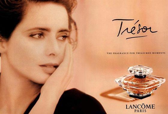 Isabella Rossellini w reklamie marki Lancome