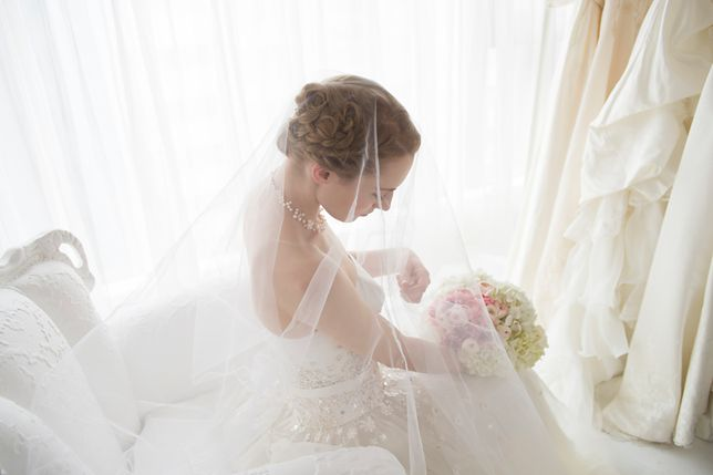 Panna młoda kupiła suknię ślubną przez internet