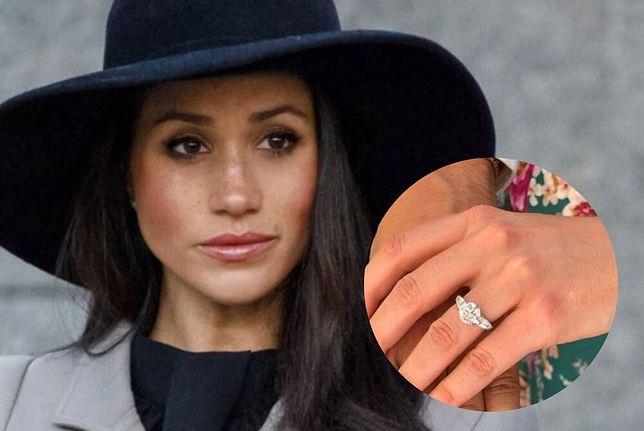 Meghan Markle dostała tańszy pierścionek zaręczynowy