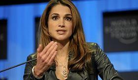 Królowa Jordanii upomina Europę w sprawie uchodźców