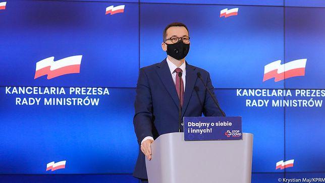 Koronawirus. Premier Mateusz Morawiecki na konferencji prasowej