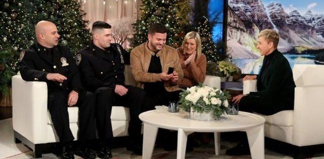 Wzruszająca scena podczas programu The Ellen Show