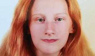 Zaginiona 16-letnia Elwira Gacuta.