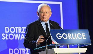 Jarosław Kaczyński w Gorlicach