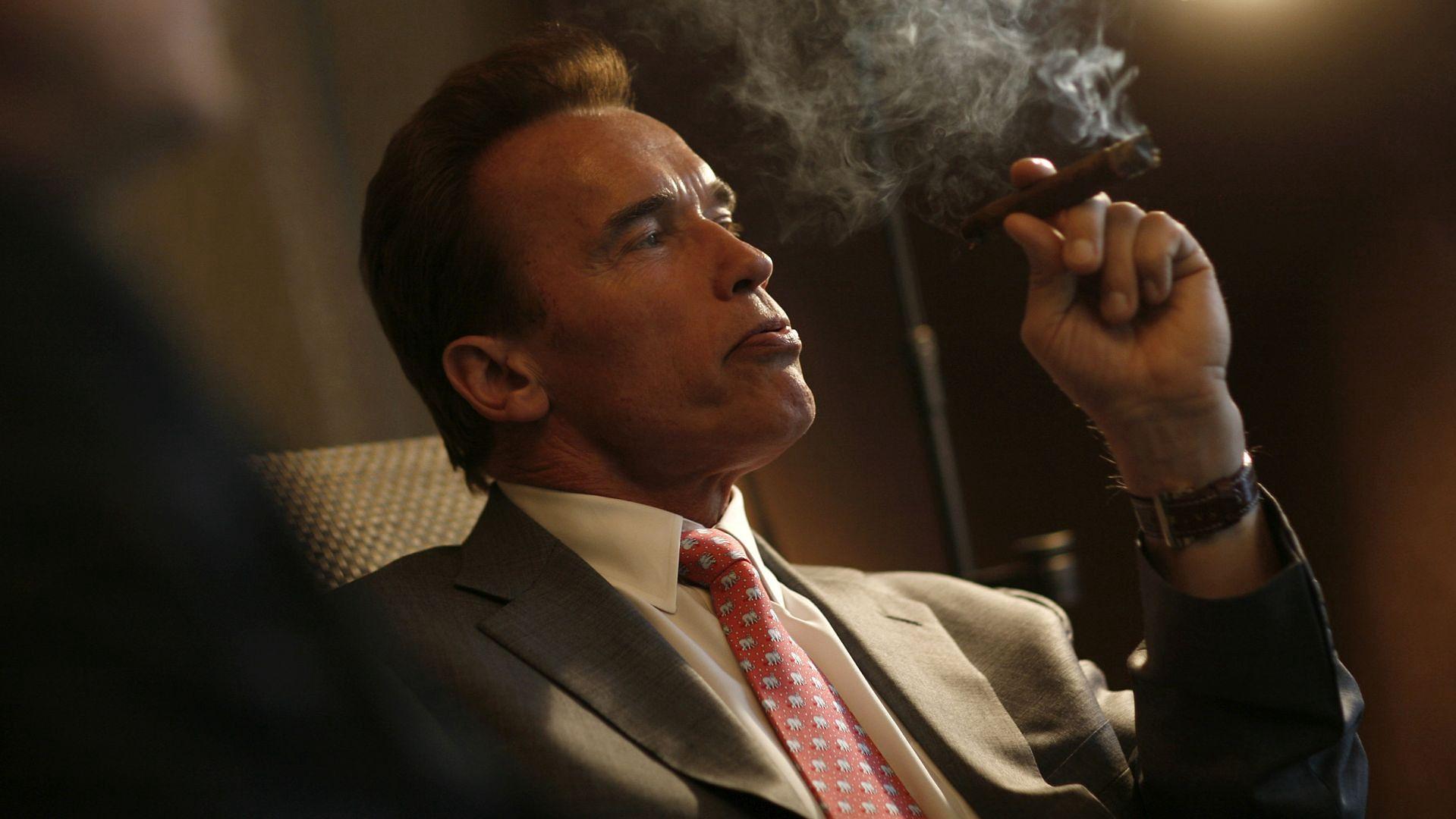 """Schwarzenegger: """"Wypalmy fajkę pokoju"""""""
