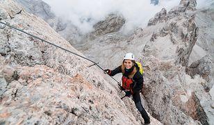 Wspinaczka górska należy do sportów ekstremalnych