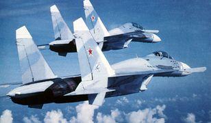 Rosyjskie myśliwce w akcji