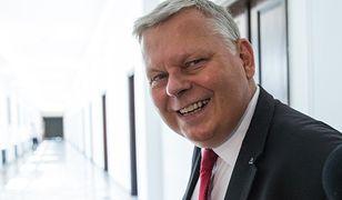 Szef gabinetu premiera Marek Suski skomentował aferę ws. szefa Najwyższej Izby Kontroli Mariana Banasia