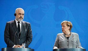 Angela Merkel i Edi Rama.