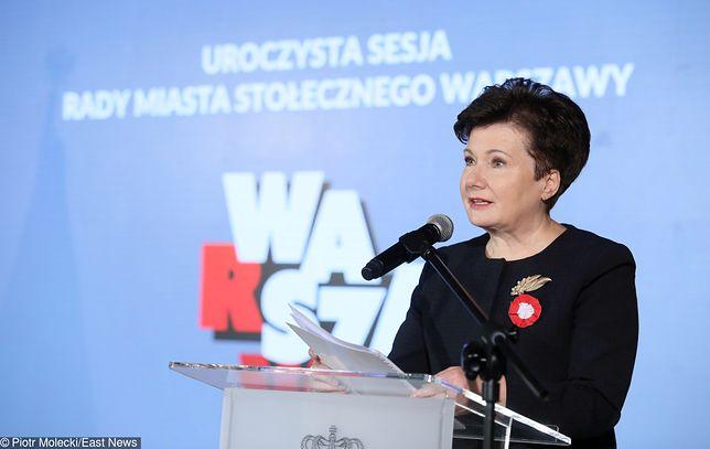 Hann Gronkiewicz-Waltz nie będzie kandydatką do Senatu w jesiennych wyborach parlamentarnych