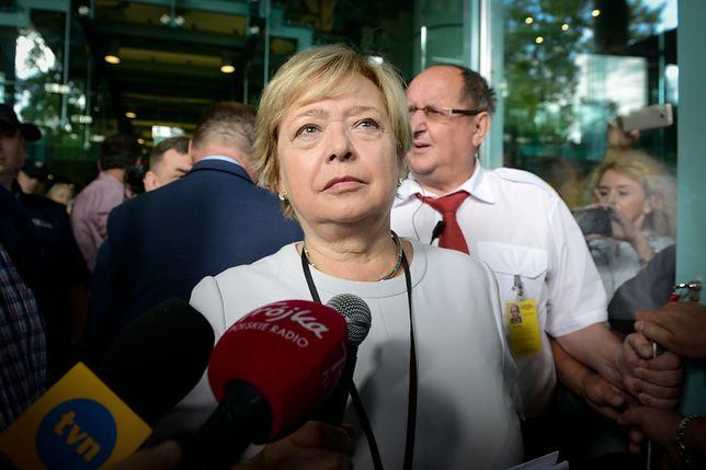 I prezes SN Małgorzata Gersdorf nie uznaje działań TK