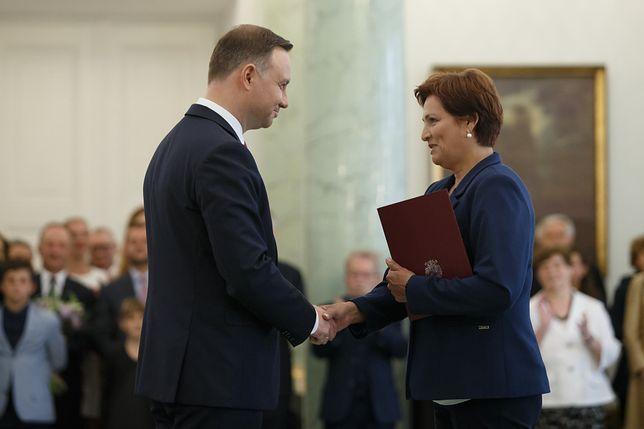 Halina Szymańska kierowała Kancelarią Prezydenta przez ponad 3 lata