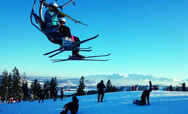 Rewelacyjne warunki narciarskie na małopolskich stokach