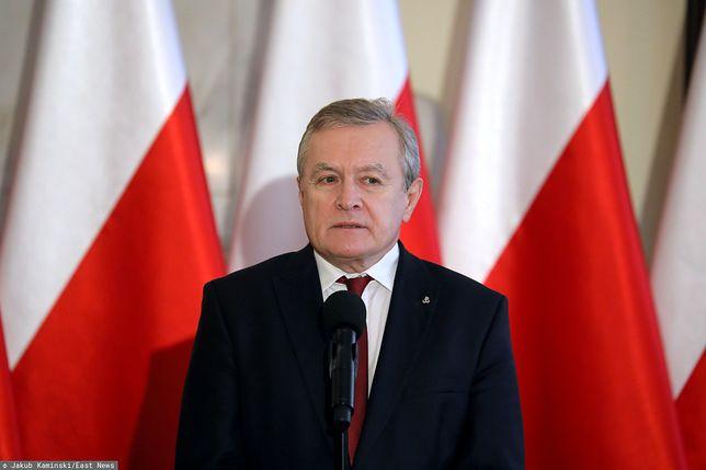 Piotr Gliński o Tokarczuk: próbowałem, nie dokończyłem