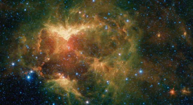 31 października. NASA opublikowała na Halloween zdjęcia upiornie wyglądającej mgławicy