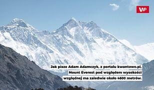 Mount Everest nie jest najwyższy na Ziemi