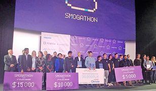 Smogathon: wybrano najlepsze rozwiązanie smogowe 2018 roku. Polacy niestety poza finałem