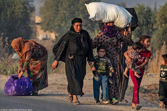 Turcja zaatakowała terytorium Syrii kontrolowane przez Kurdów.