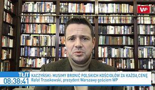 """Jarosław Kaczyński jak Wojciech Jaruzelski? Rafał Trzaskowski mówi o """"prowokacji"""""""