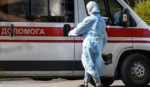 Koronawirus. Ukraina. Najwięcej ofiar od początku epidemii