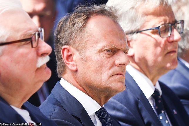 Donald Tusk w Gdańsku.