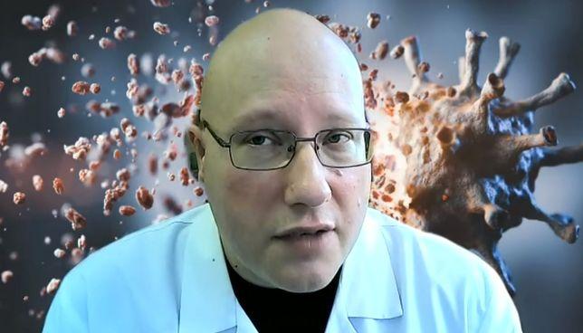 Koronawirus w Polsce. Dr Tomasz Dzieciątkowski jest atakowany w sieci