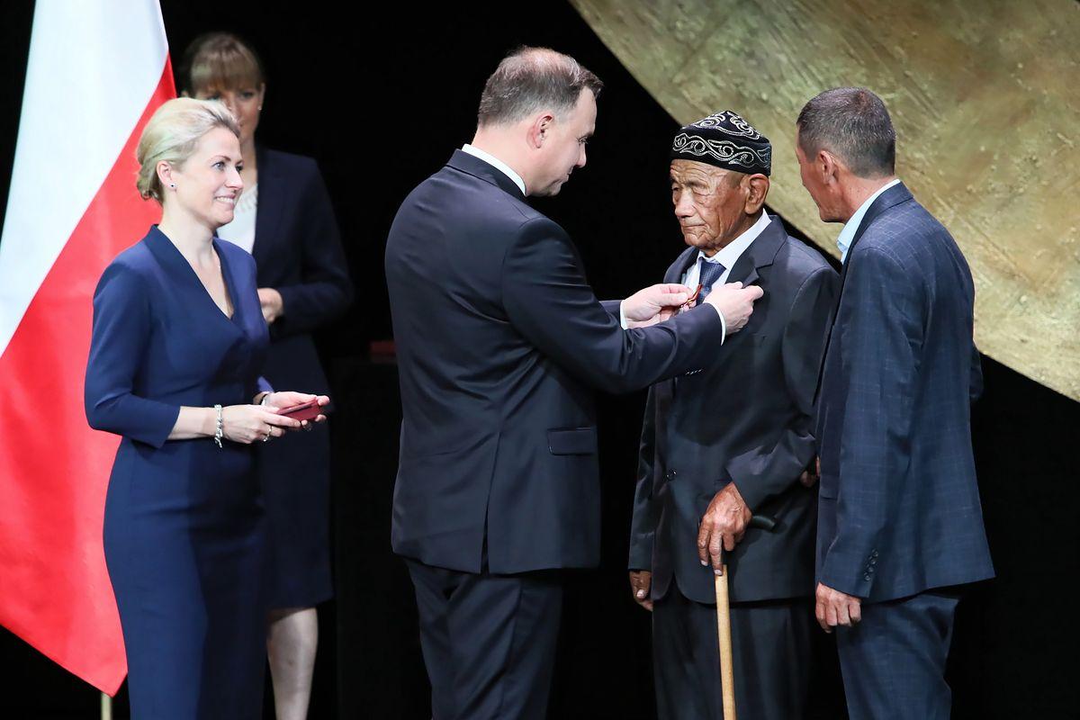 Duda wręczył medale Virtus et Fraternitas. Po raz pierwszy w historii
