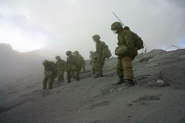 Odnaleziono ciała trzech kolejnych ofiar erupcji wulkanu Ontake