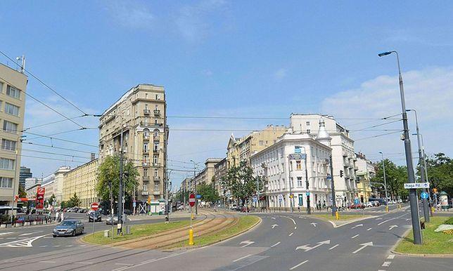Pl. Unii Lubelskiej w Warszawie - jedna z proponowanych lokalizacji
