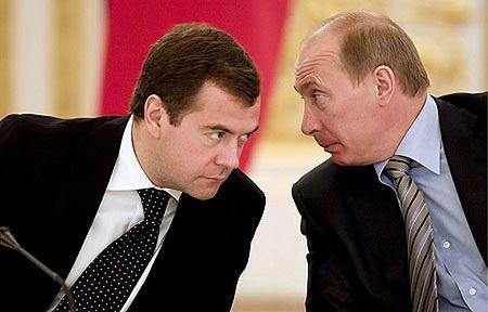 Władimir Putin premierem Rosji