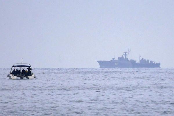 Ukraińska straż graniczna: rosyjskie okręty blokują Cieśninę Kerczeńską