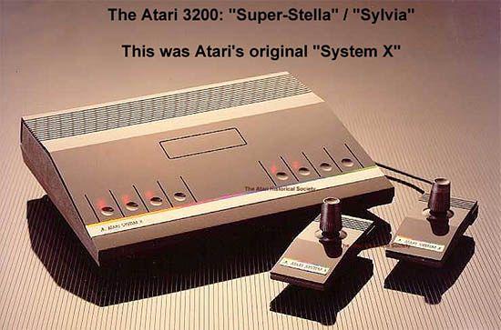 Projekt konsoli Atari System X (Atari 3200).