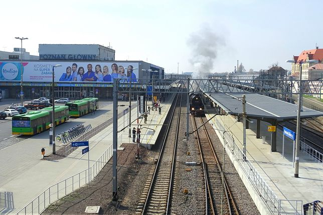 Awantura w Poznaniu. Poszło o dworzec kolejowy