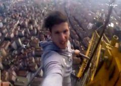 Stambuł - selfie na 220-metrowym dźwigu