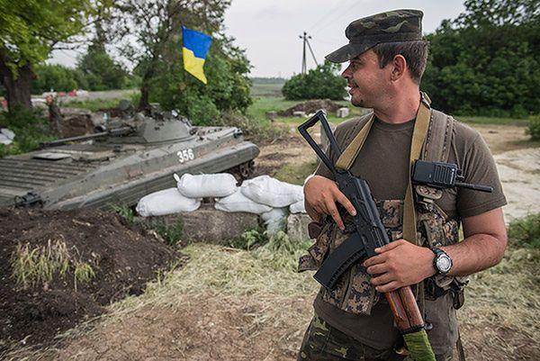 Ukraina chce obcokrajowców w swojej armii