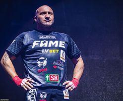 Marcin Najman gotowy na kolejną galę FAME MMA. Podziękował Andrzejowi Gołocie