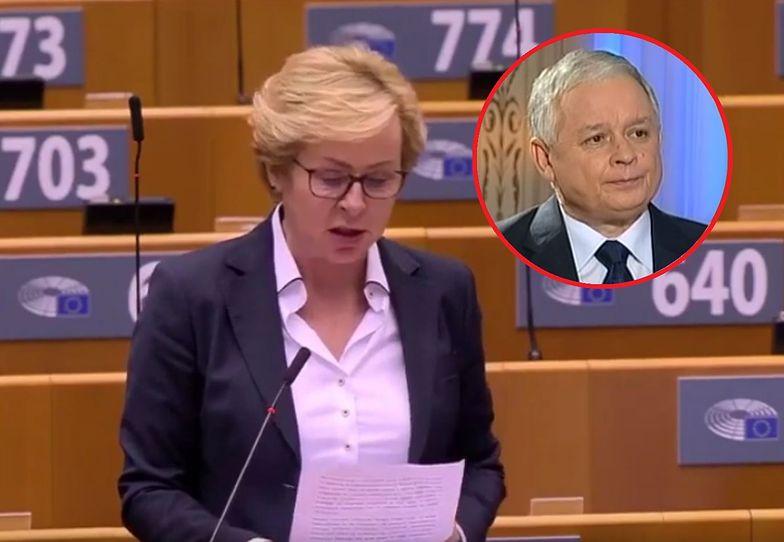 Wiśniewska: pogarda zaczęła się, jak Lech Kaczyński został prezydentem