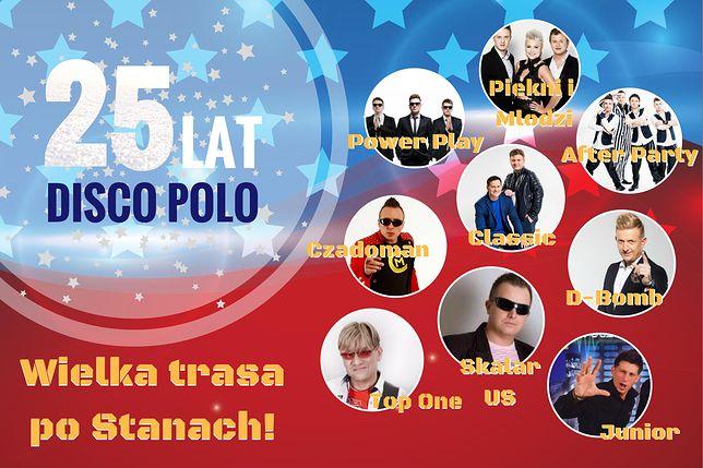 Podczas aż pięciu koncertów wystąpią największe gwiazdy muzyki disco