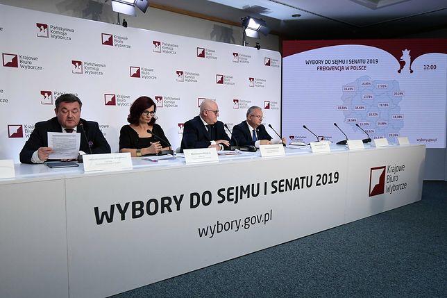 Wybory parlamentarne 2019. Państwowa Komisja Wyborcza podała pierwsze dane o frekwencji