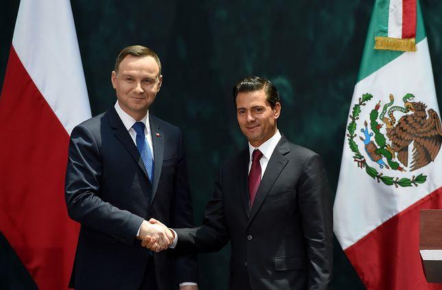 Duda: Polska chce świata bezpiecznego świata