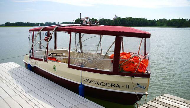 Leptodora II - jedyna taka łódź w Polsce