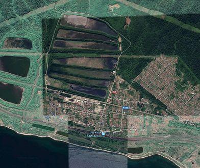 13 wielkich zbiorników z toksycznymi odpadami znajduje się bardzo blisko brzegu Bajkału