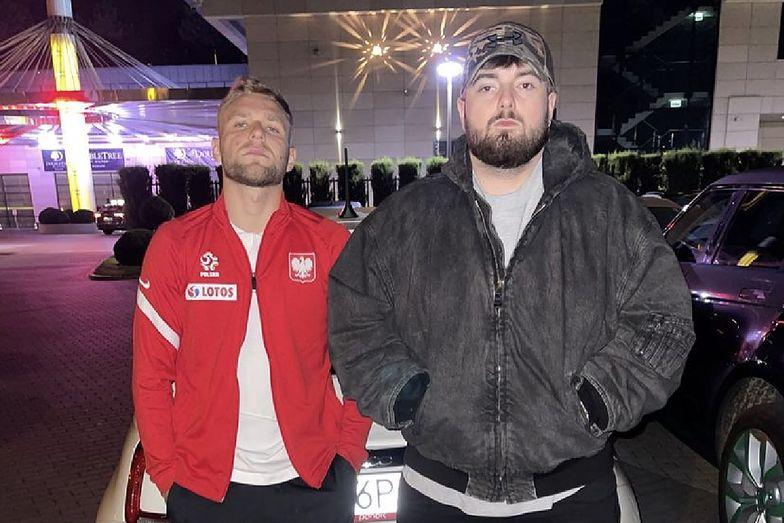 Reprezentant Polski wmieszał się w konflikt raperów. Takiej odpowiedzi się nie spodziewał